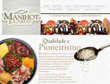 Tablet Preview of manihot.com.br
